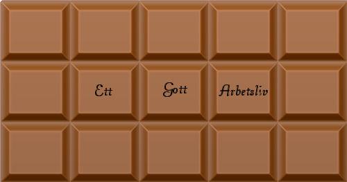 Choklad från Ett Gott Arbetsliv
