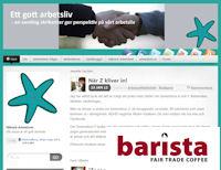 Nätverkets blogg Ett Gott Arbetsliv på Barista Malmö 3 feb 2012