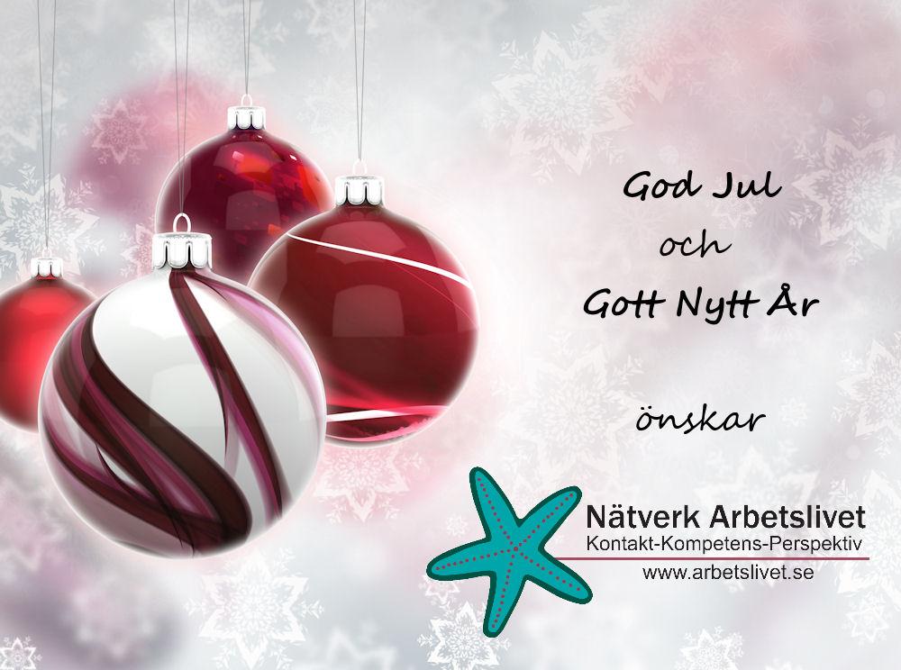 God Jul önskar Nätverk Arbetslivet