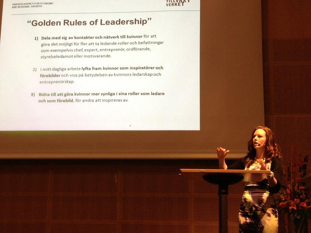Golden Roles of Leadership - Gyllene regler för ledarskap