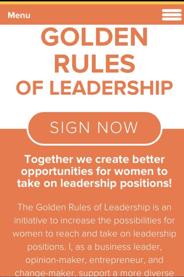 Golden Rules of Leadership - Gyllene regler för ledarskap