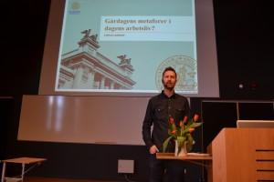 Stefan Larsson forskar vid Rättssociologiska instutionen i Lund