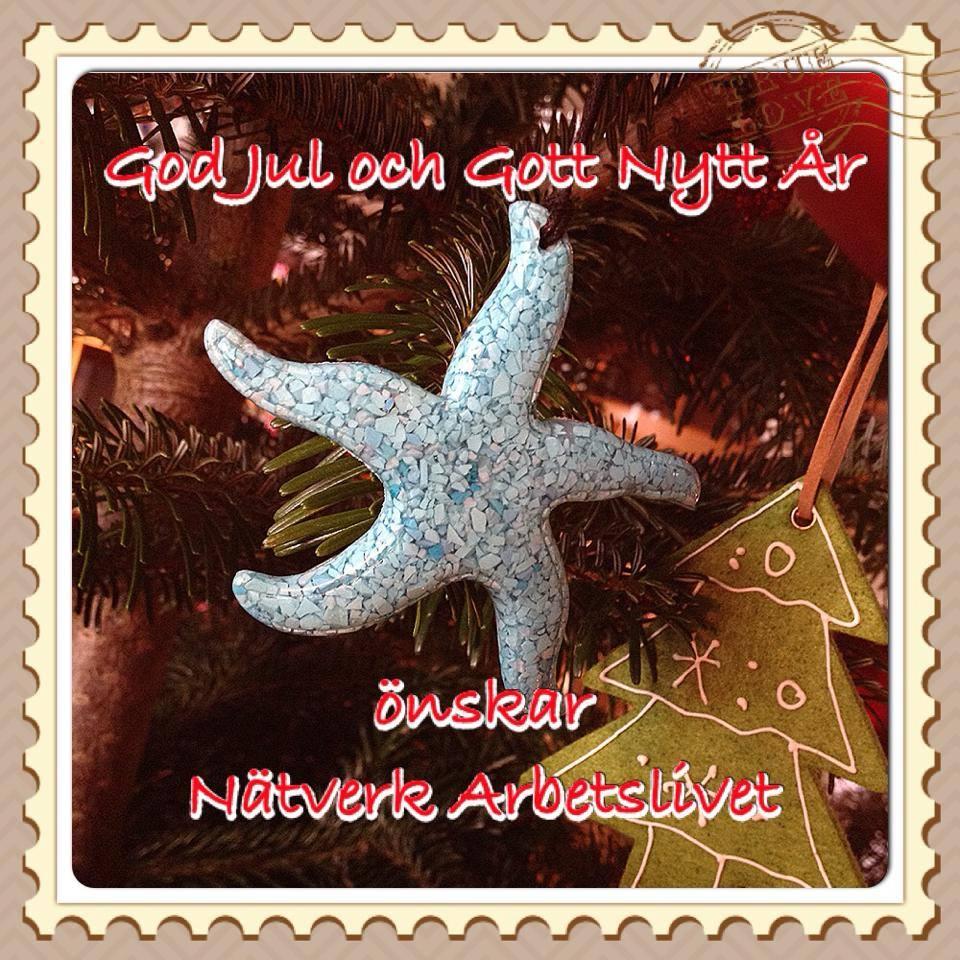 Nätverk Arbetslivet önskar God Jul och Gott Nytt År!